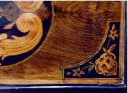 Marquetry after restoration